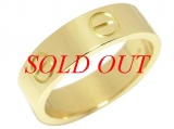 Nhẫn Cartier Love Ring K18YG size 55-Nhan-Cartier-Love-Ring-K18YG-size-55